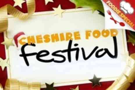 Cheshire Food Festival - Christmas Food Festival  Weekend Day Pass - Save 54%