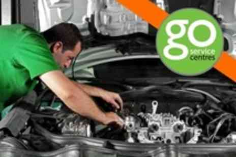 GO Service Centres - 54 Point Car Service With Oil Change Plus Fuel Economy Treatment and Air Conditioning Recharge - Save 50%