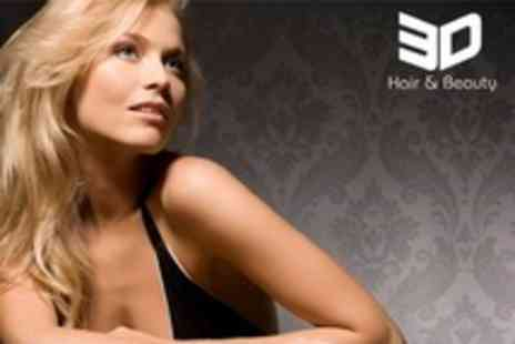 Charlotte @ 3D Hair - T Section Colour With Cut and Blow Dry - Save 70%