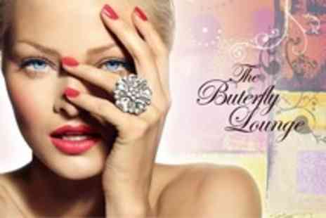 The Butterfly Lounge - Gel Polish Plus Facial or Pedicure - Save 50%