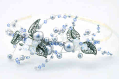 The Bead Shop - One day tiara & fascinator making workshop including a specialist book -  Save 47%