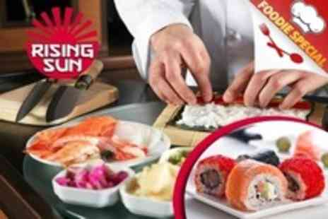 Rising Sun - Sushi Making Workshop For One With Platter To Take Home - Save 50%