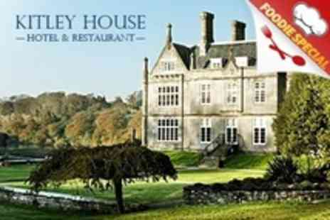 Kitley House Hotel - Winter Afternoon Tea With West Country Cheeses - Save 52%