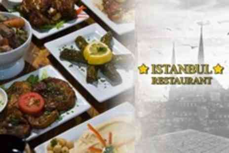 Istanbul Restaurant - Three Course Turkish Meal For Two - Save 61%