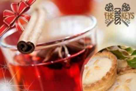 The Cross Keys - Festive Afternoon Tea With Mulled Wine for Two - Save 35%