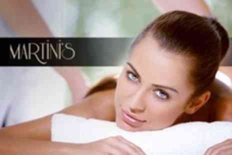 Martinis Hair - One Hour Massage - Save 28%