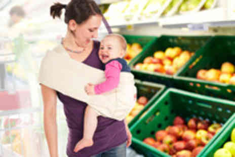 Lifft Slings - Luxury baby sling in a choice of vanilla or navy - Save 53%
