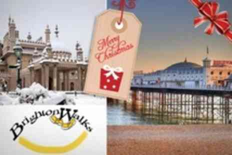 Brighton Walks - Christmas Regency Tour For Two - Save 50%