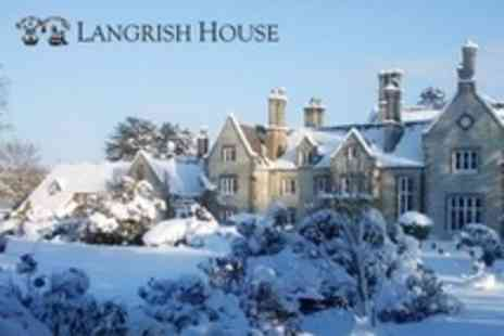 Langrish House - One Night Stay For Two With Breakfast and Two Course Dinner - Save 46%
