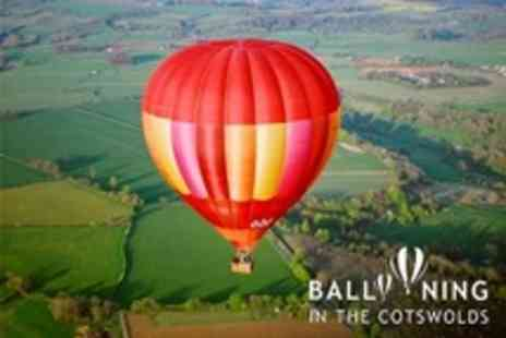 Ballooning In The Cotswolds - Hot Air Balloon Flight With Photo and Certificate - Save 50%