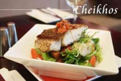 Cheikhos - Two Course Italian Meal For Two With Liqueur Coffee - Save 58%