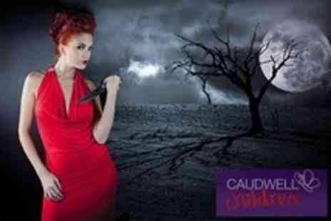 Caudwell Children - Murder Mystery Evening With Three Course Dinner For One - Save 33%