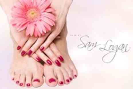 Hair by Sam Logan - Jessica Manicure or Pedicure - Save 56%