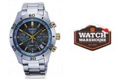 Watch Warehouse - Seiko Mens Classic Chronograph Watch - Save 40%
