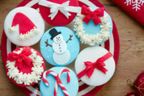 The Cocoa Box - Two hour festive cupcake decorating class - Save 53%