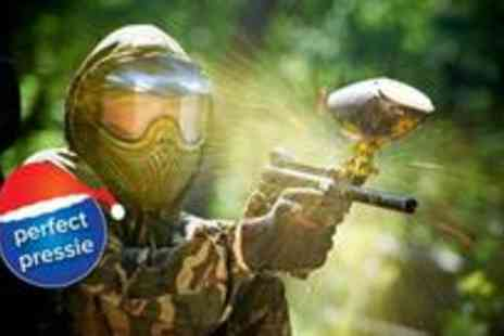 Hamburger Hill - Half day of paintballing with 50 paintballs for two - Save 85%