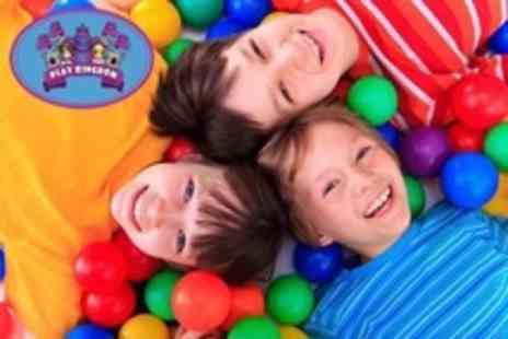 Play Kingdom - Family Soft Play Entry With Meal and Drink For Two - Save 38%