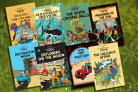 Iqbooks - The Adventures of Tintin 3 book collection - Save 54%