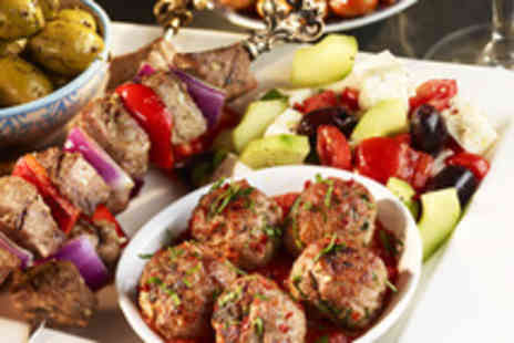 Its All Greek 2 Me - Two course la carte Greek lunch for 2 people - Save 60%