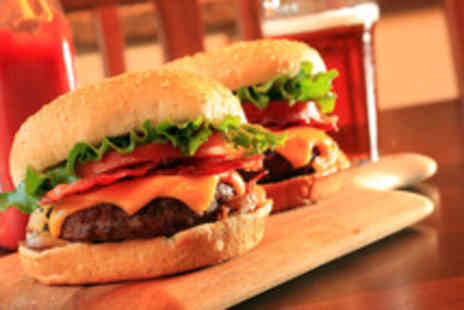 Bar Eight - Burgers and beers for 2 people including salad, chips & onion rings - Save 56%