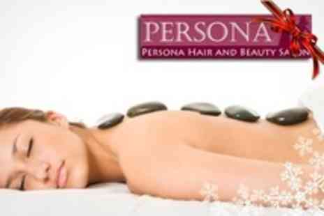 Persona Hair and Beauty - Pamper Package Up to One Hour of Wellbeing Treatments - Save 68%
