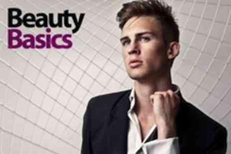 Beauty Basics - Mens Grooming Packages With Manicure, Pedicure and Waxing Options - Save 63%
