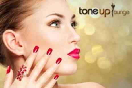 Toneup Lounge - Pedicure and Calgel Manicure - Save 67%