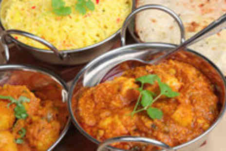 Ruba Spice - Indian Meal  2 Main Courses with 2 Rice & 1 Naan at Ruba Spice - Save 56%
