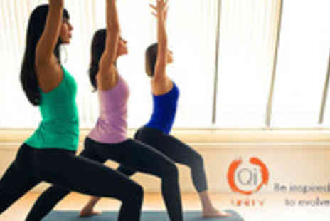 QiYoga - Bend, stretch & meditate your way free of stress - Save 62%
