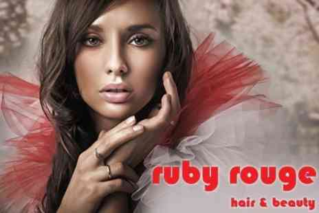Ruby Rouge - Cutand Blow Dry with Luxury Conditioning Treatment for £18 at Ruby Rouge Hair & Beauty - Save 60%