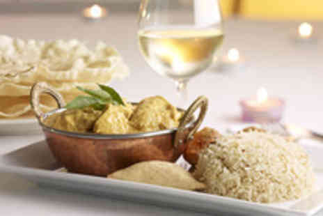 Heart of India - Indian meal for 2  inc. starters, mains, rice, naan & coffee - Save 54%