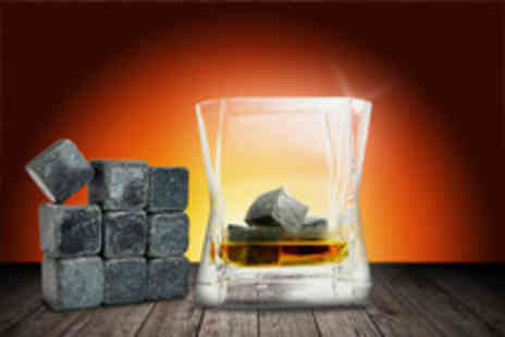 46 Forty Six - Nine whiskey stones keep your drink ice cold in style - Save 73%