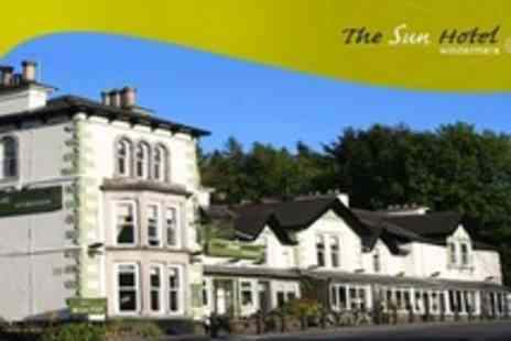 The Sun Hotel - Two Night Stay For Two With Dinner, Cream Tea and Breakfast in Lake District - Save 48%