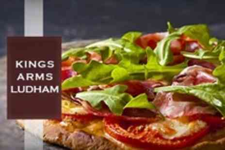 Kings Arms - Two Course Meal For Two - Save 31%