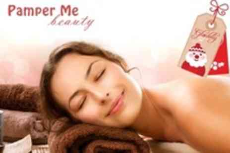 Pamper Me Beauty - Two Gift Vouchers For Choice of Treatments Such as Guinot Facial and Massage - Save 74%