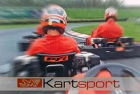 JM Kartsport - Go Karting for 15 Minutes For Two - Save 57%