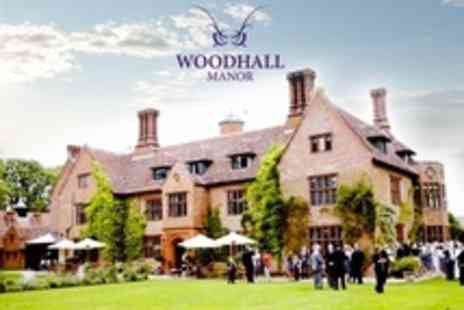 Woodhall Manor - Wedding Package For 50 Guests with Exclusive Hire, Wedding Breakfast, Drinks, and Evening Buffet - Save 41%