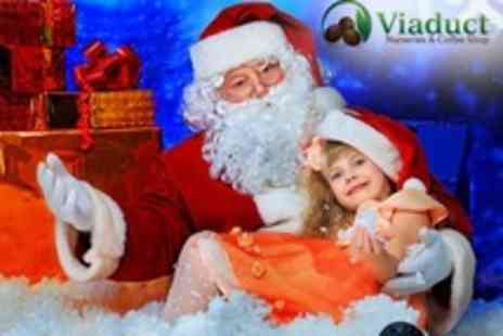 Viaduct Nurseries and Coffee Shop - Santas Grotto Visit With Present and Hot Chocolate For One Child - Save 42%