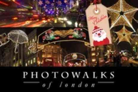 Photo Walks of London - Night Time Christmas Lights Tour - Save 60%