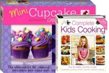 The Book Stalk - Inspire a cupcake master chef  Mini Cupcake Creations Gift Box - Save 55%