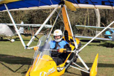 G S Aviation - Microlight Flying Lesson - Save 51%