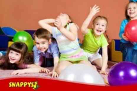 Snappys - Soft Play Childrens Party For Up to Ten with Buffet and Desserts - Save 51%