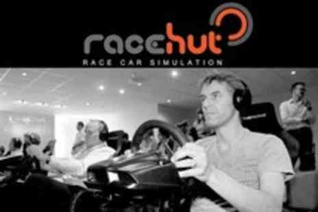 The Race Hut - Racing Car Simulation Grand Prix With Trophy Ceremony for One People - Save 17%