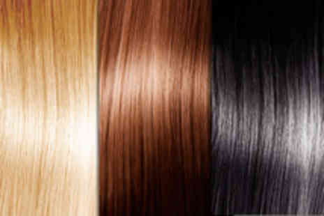 Pukka Hair - Set of eight 18 inch Remy human hair clip in extensions in a choice of colours - Save 47%