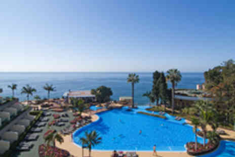 Five Star Madeira holiday - A five star hotel with its very own PADI diving centre and full-service spa  includes all travel - Save 33%