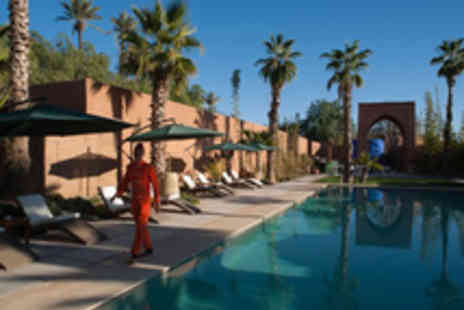 Marrakech holiday - Luxurious suites in a stylish boutique hotel with its own spa and cinema flights included - Save 18%