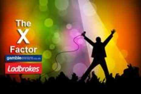 Ladbrokes - Outright winner of The X Factor 2012 - Save 80%