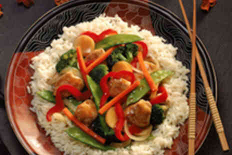 Four Seasons - Chinese Meal for Two with Wine - Save 59%