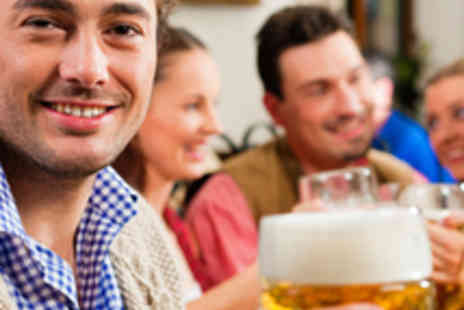 Bierkeller - Entry for Two to German Beer Hall with Burger - Save 53%