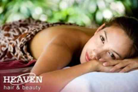 Heaven Hair and Beauty - One Hour Full Body Massage - Save 51%